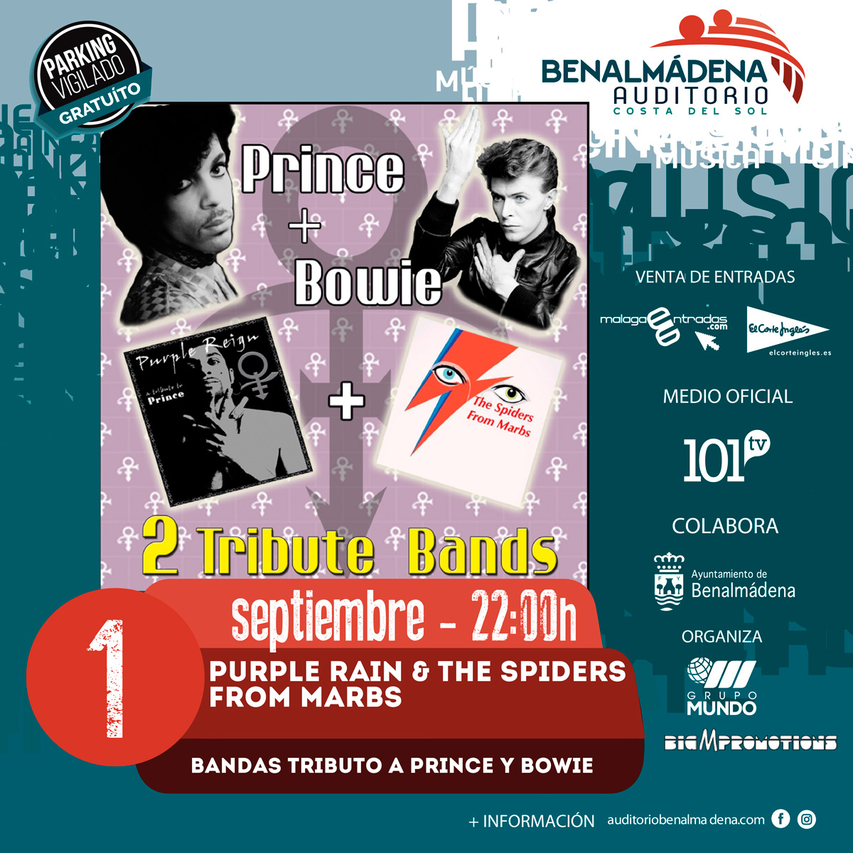 Tributo a Prince y Bowie