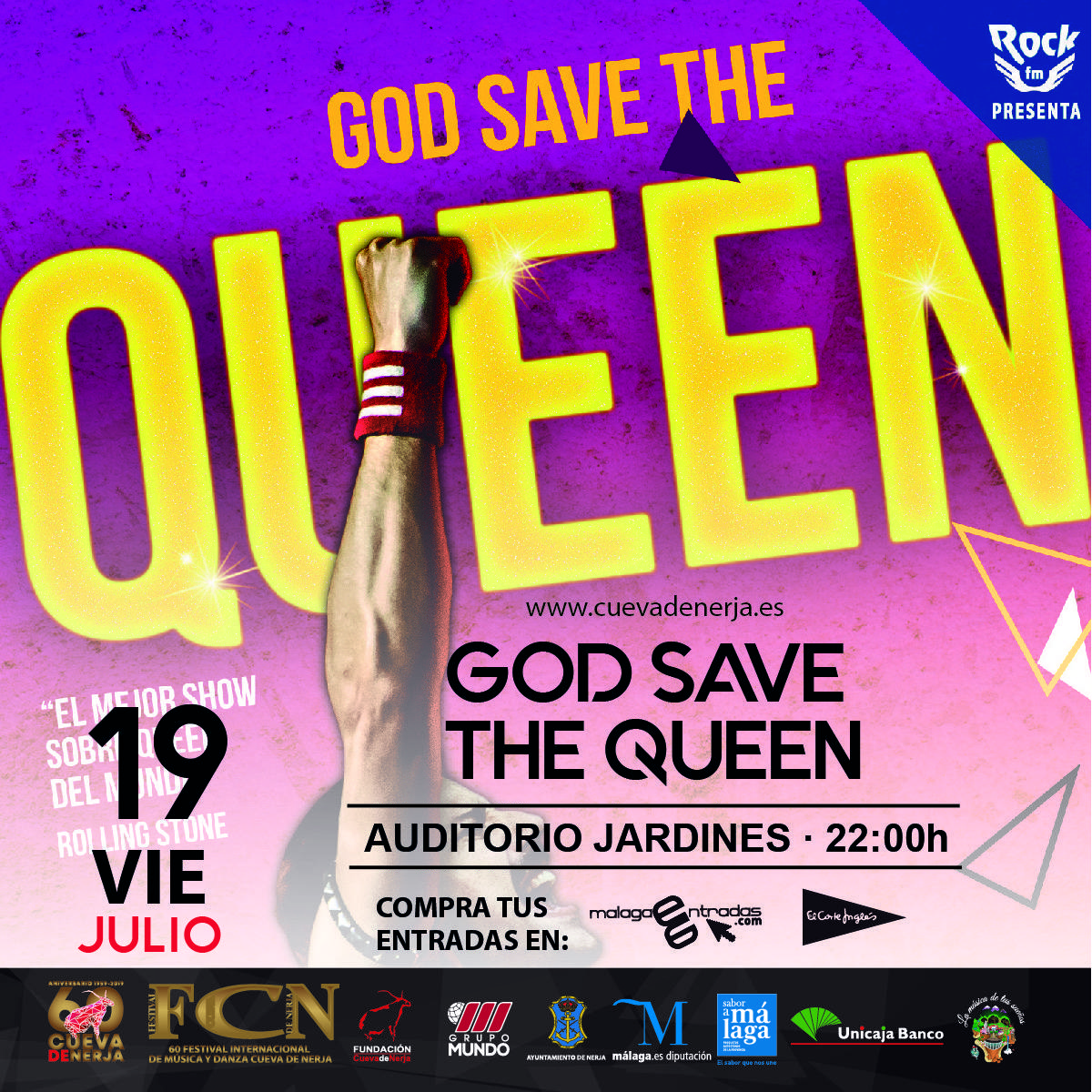 God Save The Queen - Nerja - 19 de julio